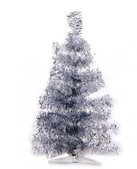 Weihnachtsbaum silber