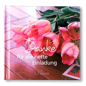 tolle-geschenke | geschenkbuch danke für die nette einladung, Einladung