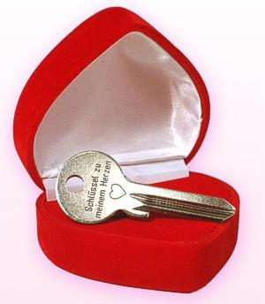 Schlüssel Zu Meinem Herzen In Herzbox